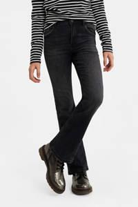 WE Fashion Blue Ridge flared jeans grijs stonewashed, Grijs stonewashed
