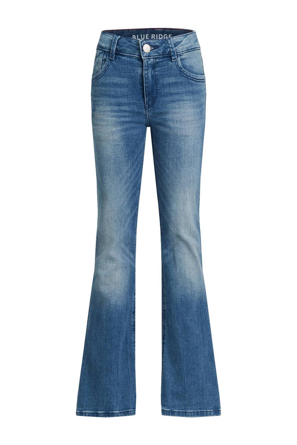 WE Fashion Blue Ridge flared jeans Farah stonewashed, Stonewashed