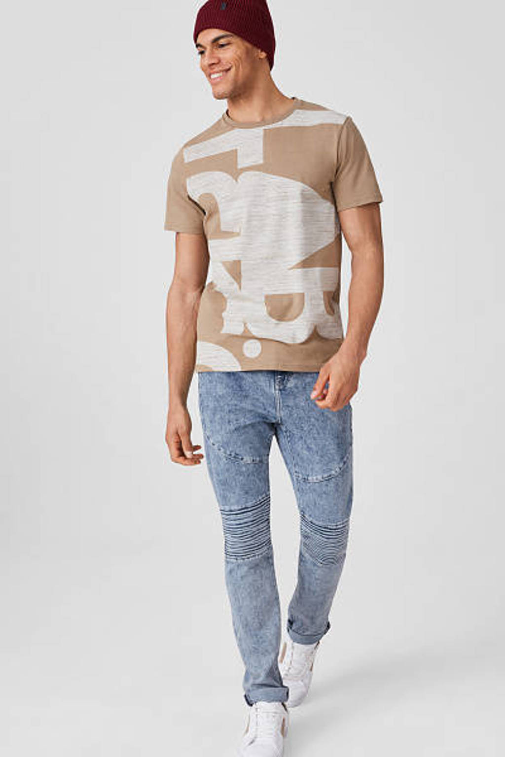 C&A Angelo Litrico skinny jeans lichtblauw, Lichtblauw