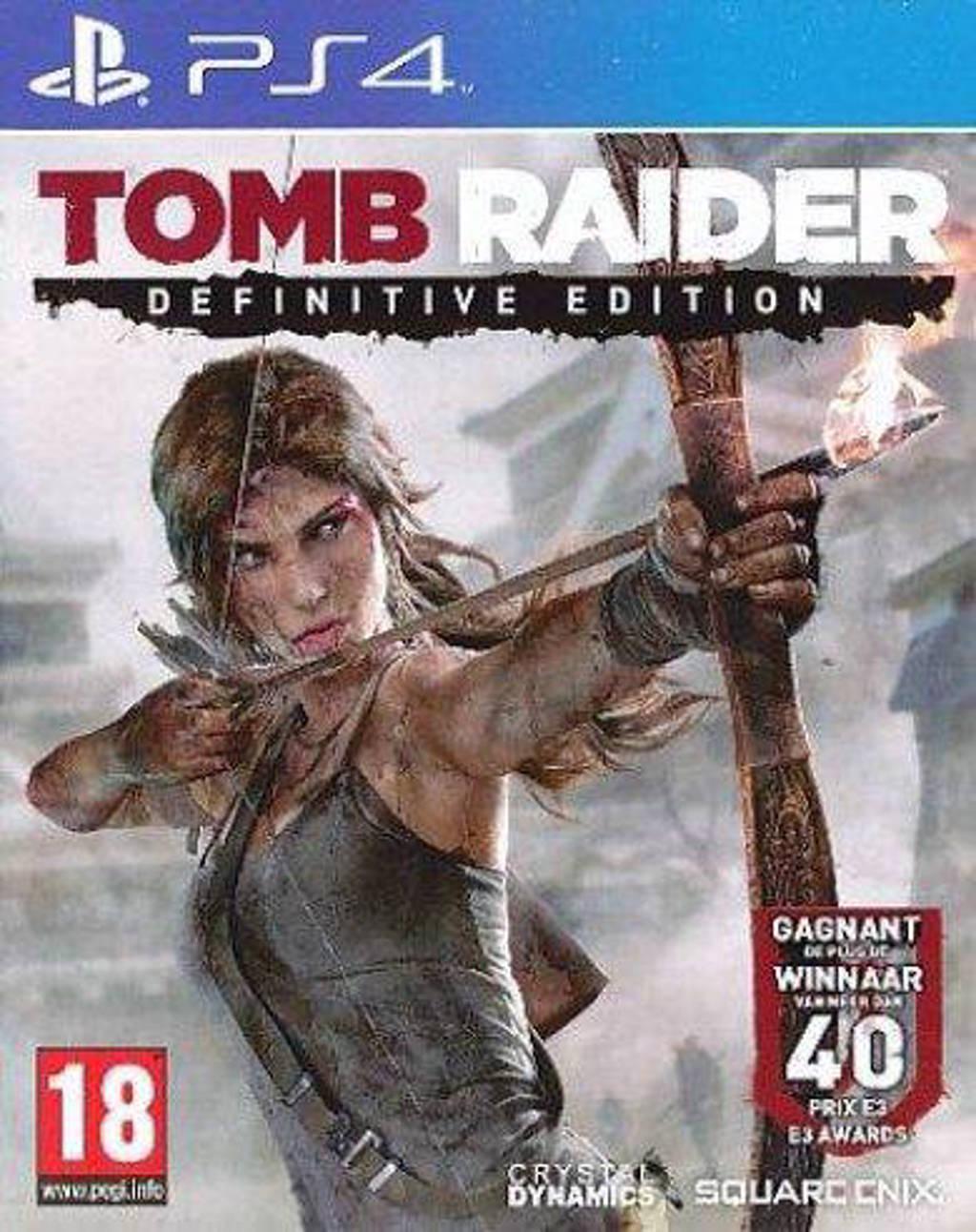 Tomb raider (Definitive edition) (PlayStation 4)