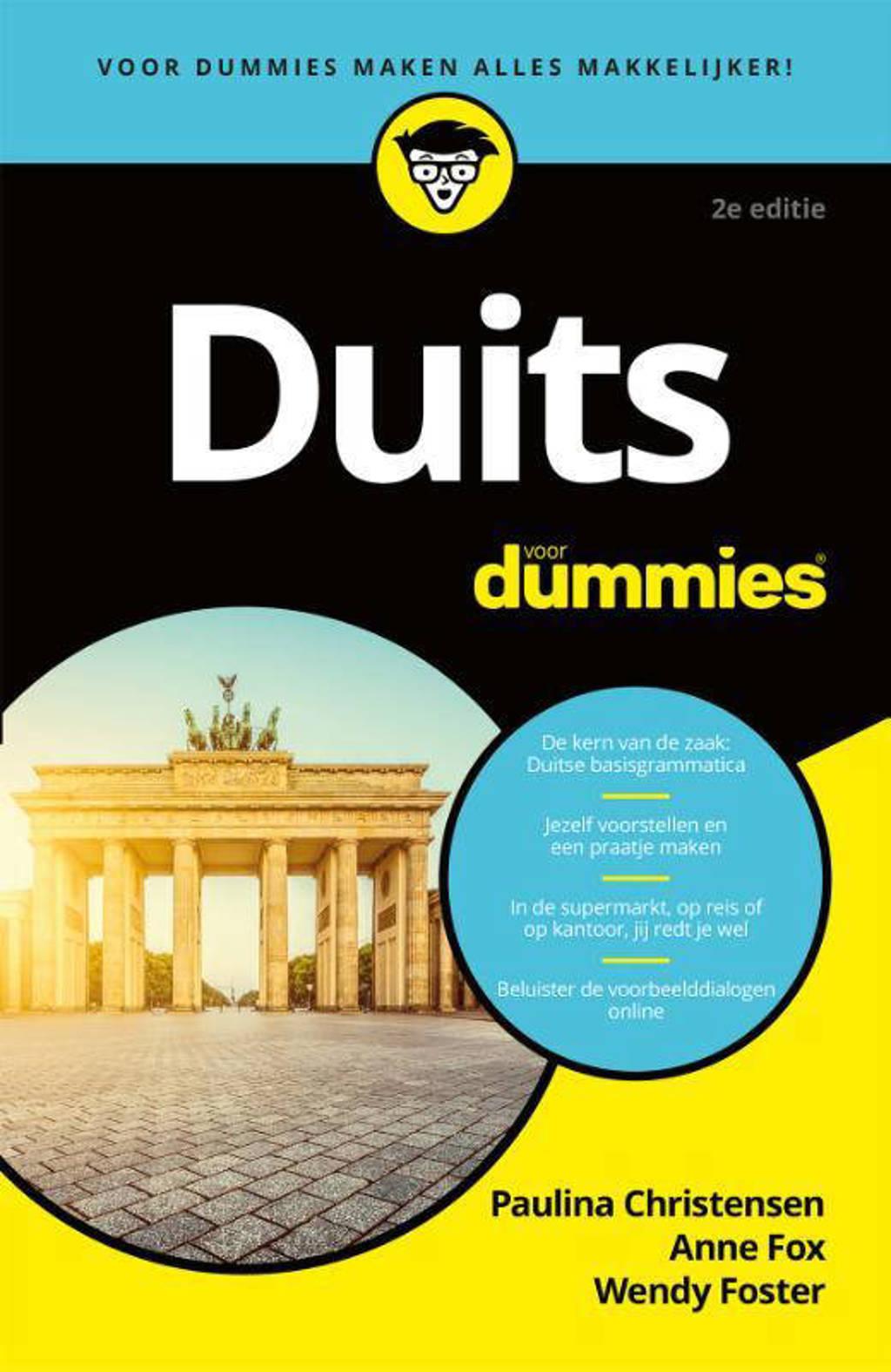 Duits voor Dummies - Paulina Christensen, Anne Fox en Wendy Foster