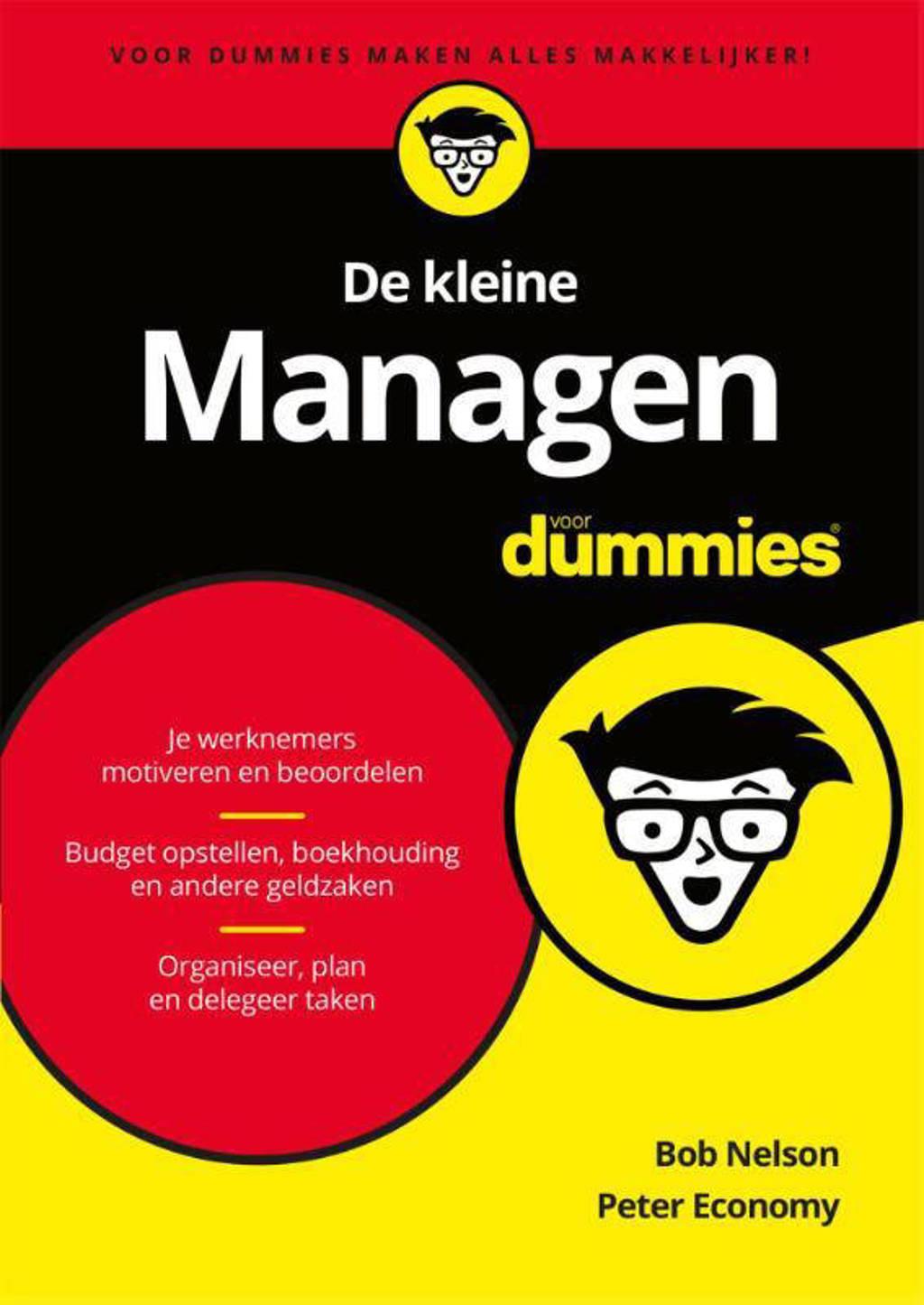 Voor Dummies: De kleine Managen voor Dummies - Bob Nelson en Peter Economy