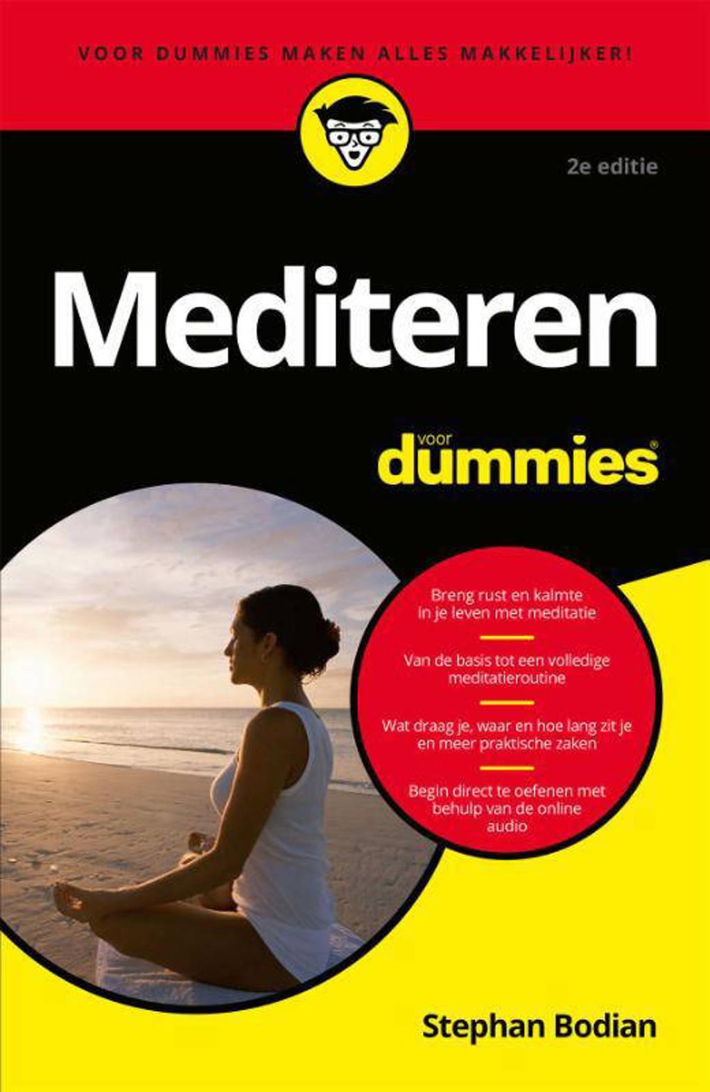 Mediteren voor Dummies - Stephan Bodian