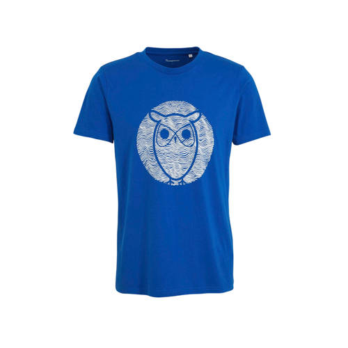 Knowledge Cotton Apparel T-shirt met printopdruk b