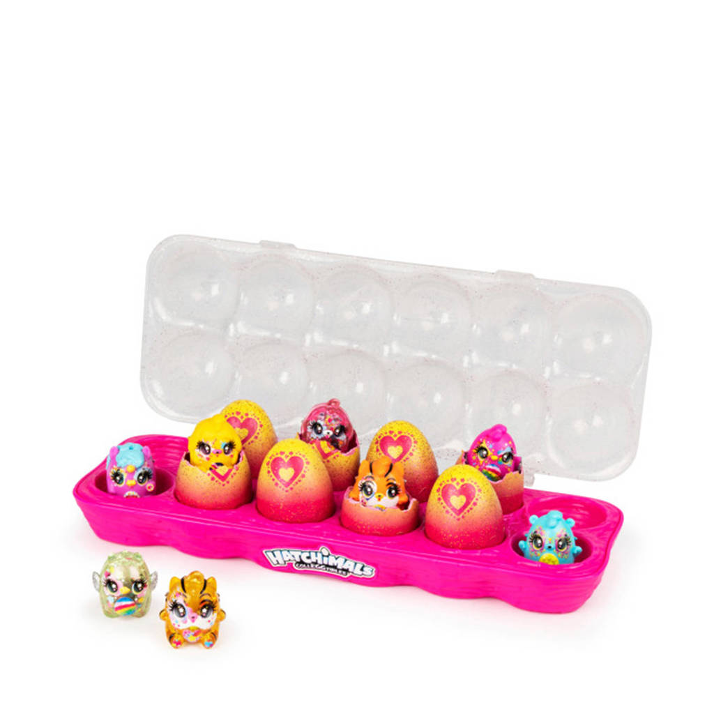 Hatchimals  CollEGGtibles S7 12 Pack Egg Carton Limmy Edish