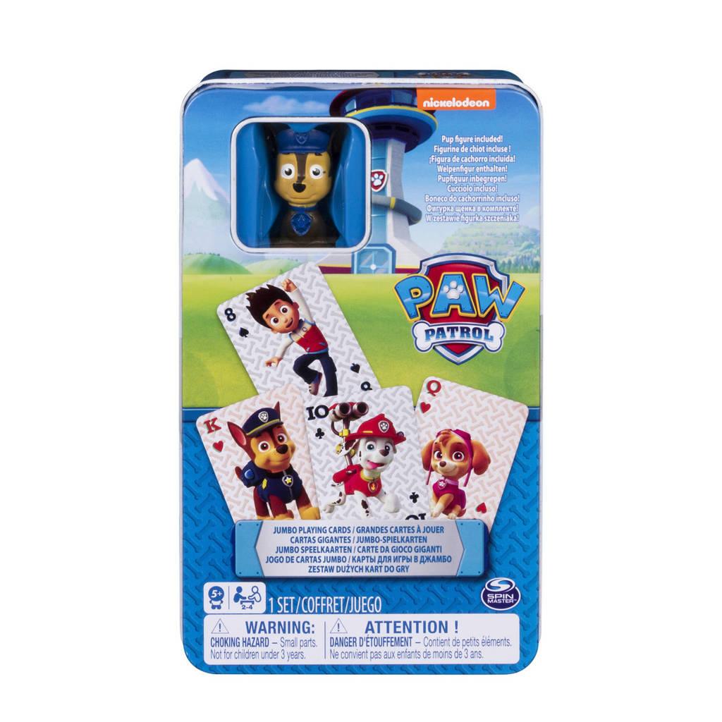 Paw Patrol Card Figure Tin kaartspel