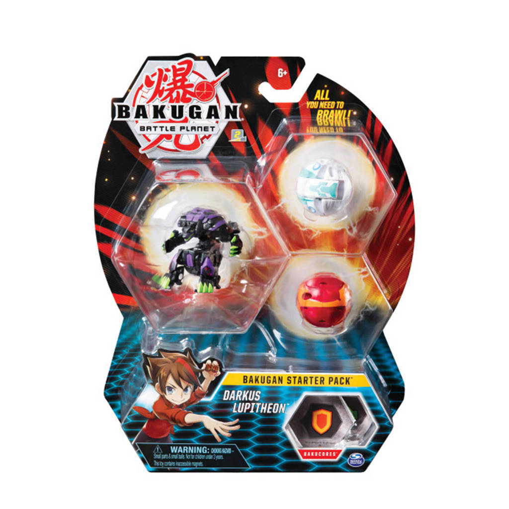 Bakugan Starter 3 Pack Mix 19
