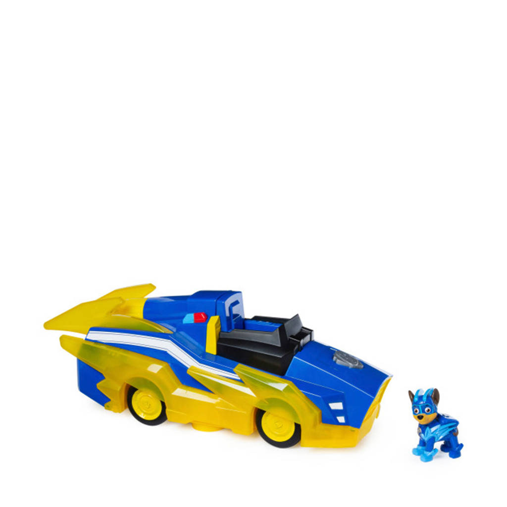 Paw Patrol  Mighty Pups Charged Up Chase's Hovercraft