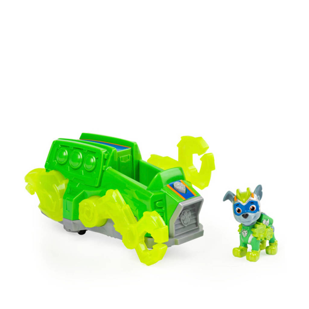 Paw Patrol  Mighty Pups Charged Up Themed Vehicle Rocky