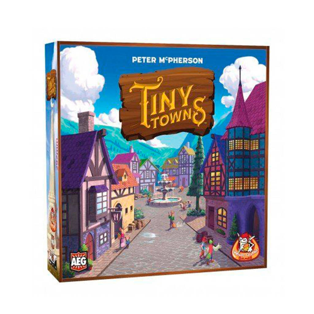 White Goblin Games Tiny Towns bordspel