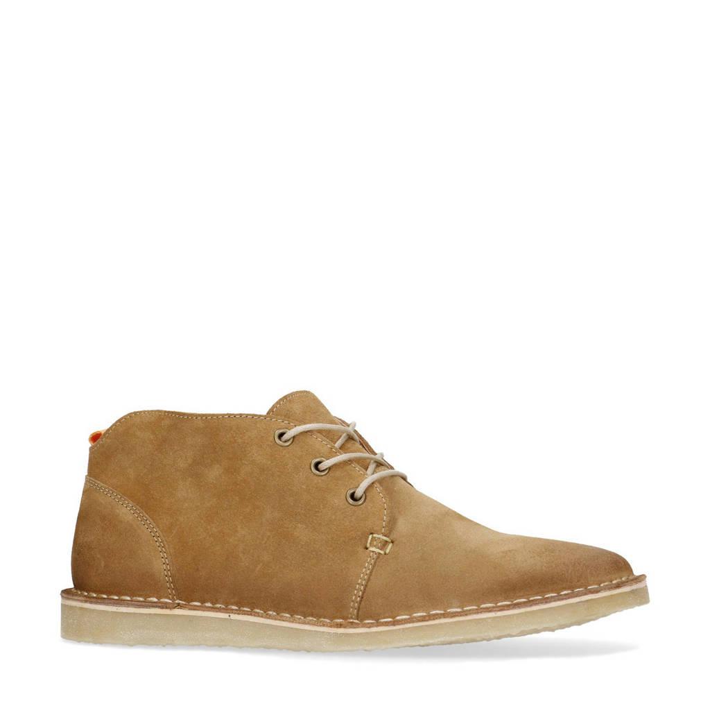 Sacha   suède desert boots beige, Beige