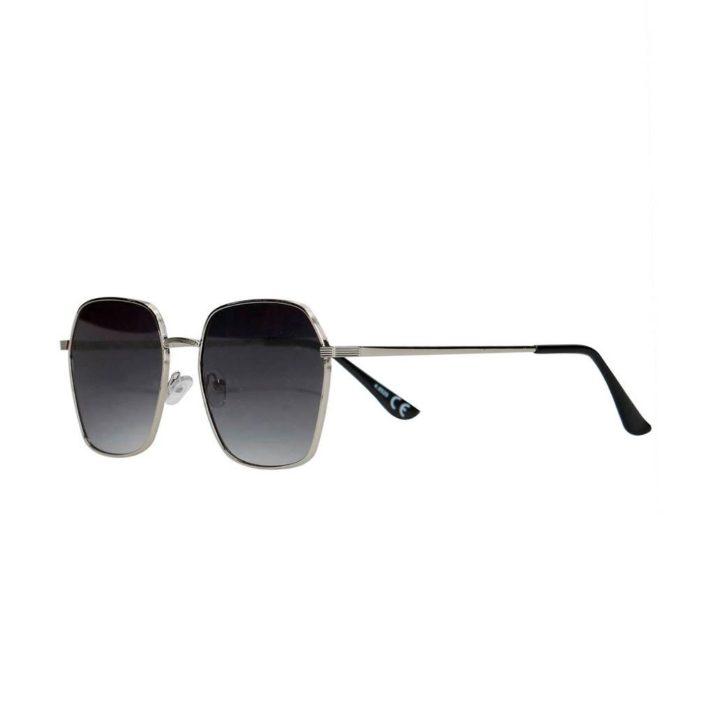 Sacha vierkante zonnebril, Zwart
