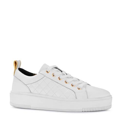 PS Poelman leren sneakers wit