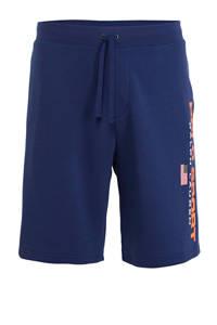 POLO Ralph Lauren Big & Tall +size regular fit sweatshort met logo blauw, Blauw