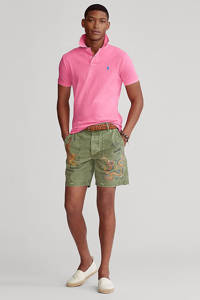 POLO Ralph Lauren slim fit polo roze, Roze