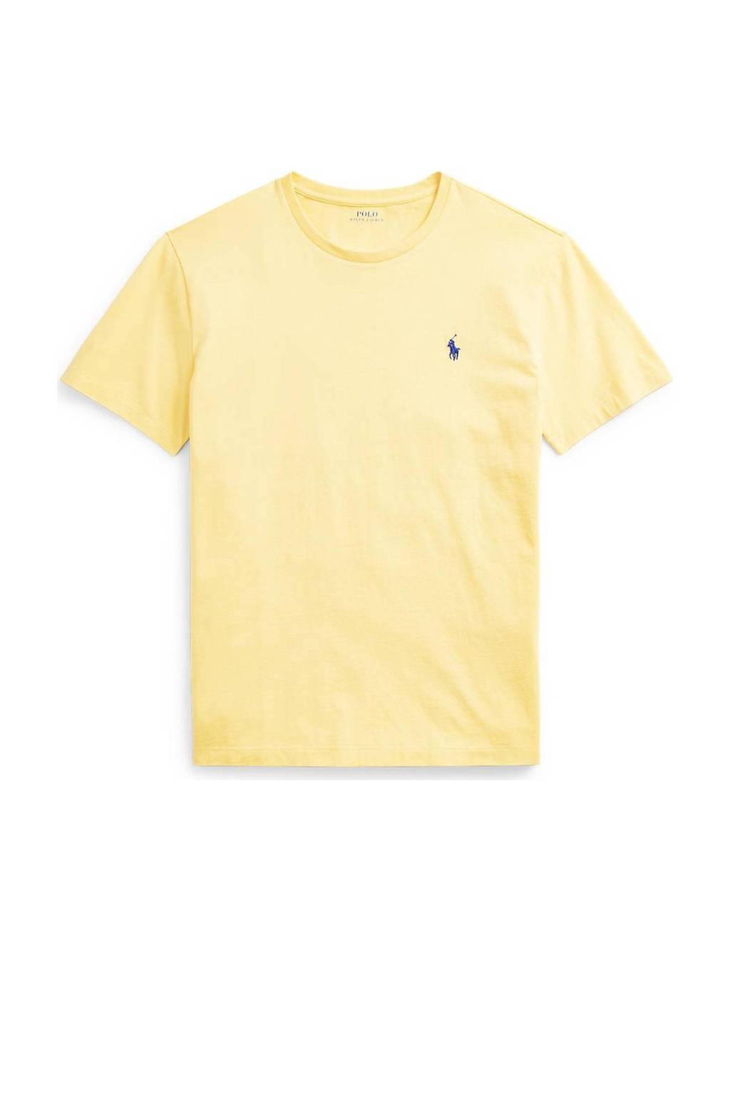 POLO Ralph Lauren T-shirt lichtgeel, Lichtgeel