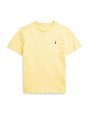 T-shirt lichtgeel