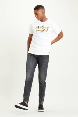 512 slim tapered fit jeans zwart