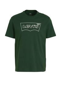 Levi's T-shirt met logo groen, Groen