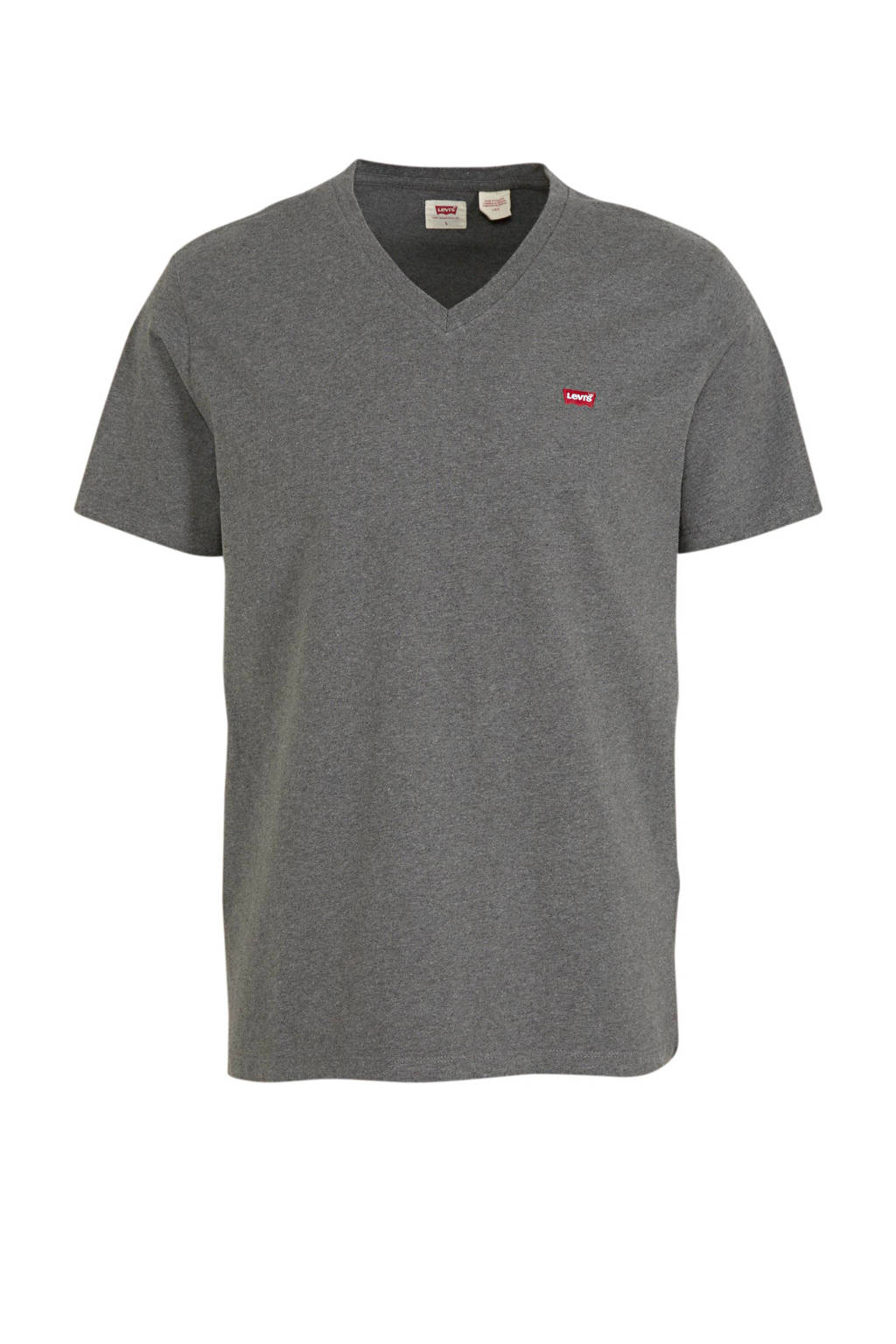 Levi's T-shirt grijs melange, Grijs melange