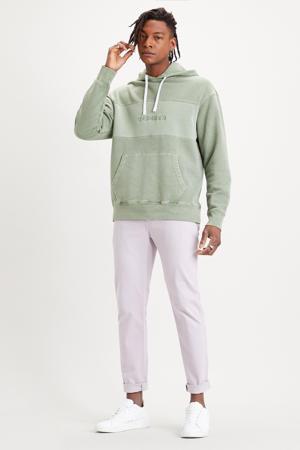 gemêleerde hoodie groen