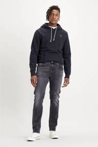 Levi's hoodie met logo zwart, Zwart