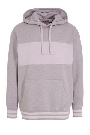 gemêleerde hoodie roze
