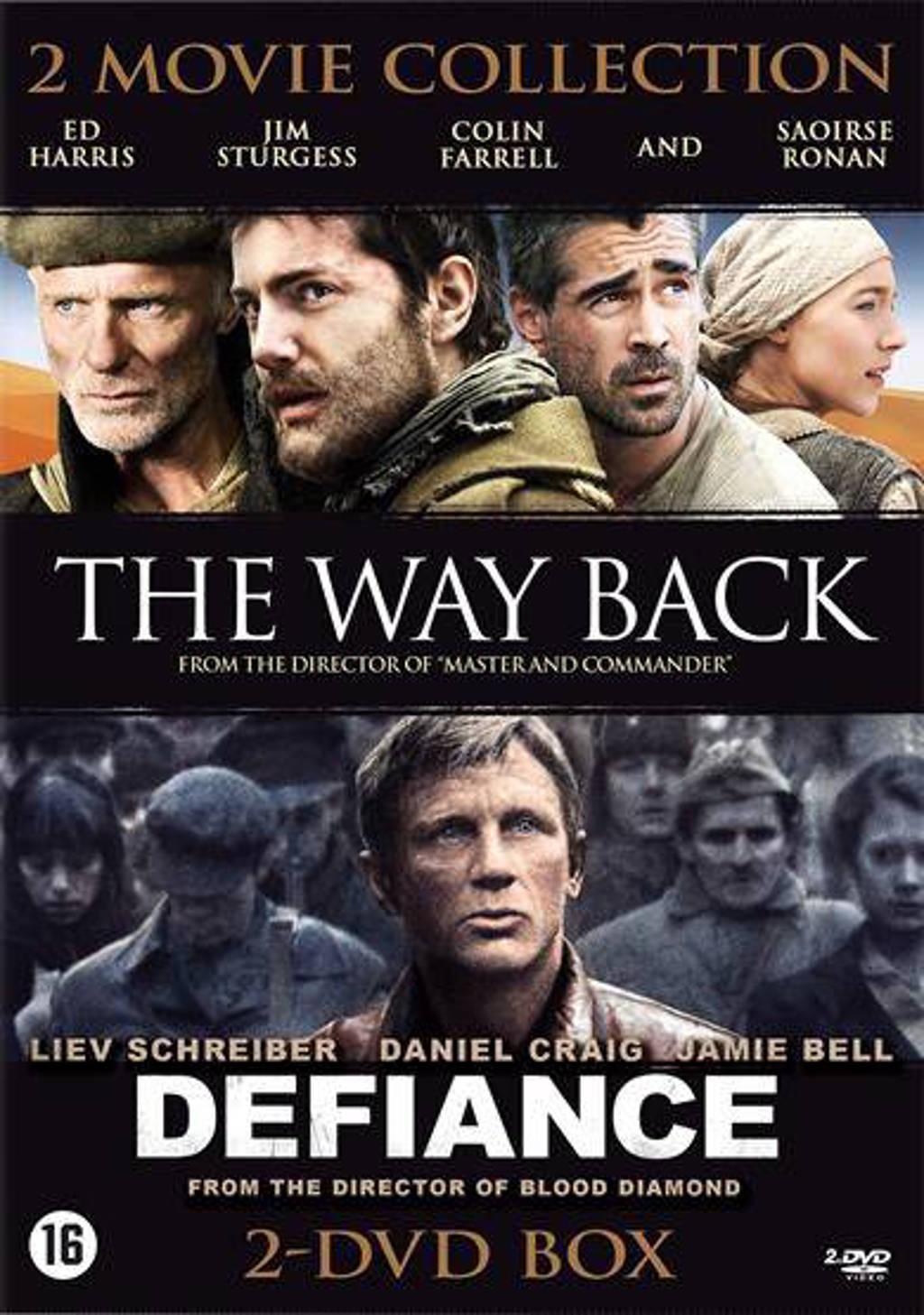 Defiance/Way back (DVD)