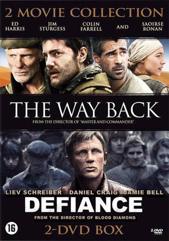 Defiance/Way back (DVD)