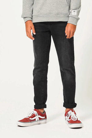 tapered fit jeans Keanu washed black