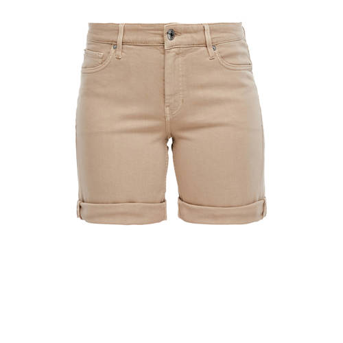 s.Oliver slim fit short beige