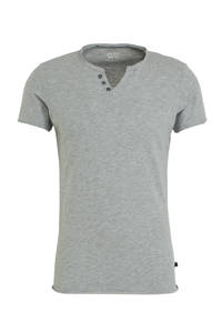Q/S designed by T-shirt grijs, Grijs
