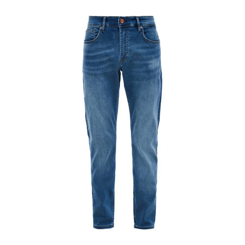 Q/S designed by regular fit jeans Rick blauw