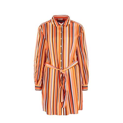 TRIANGLE gestreepte blouse oranje/multi