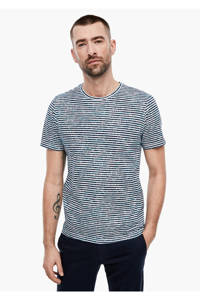 s.Oliver BLACK LABEL gestreept T-shirt blauw, Blauw