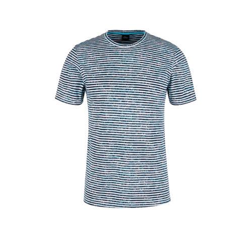 s.Oliver BLACK LABEL gestreept T-shirt blauw