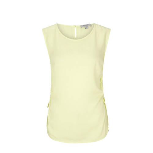 comma casual identity top geel