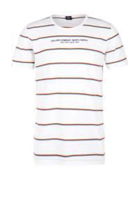 s.Oliver gestreept T-shirt wit, Wit