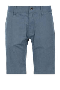Q/S designed by regular fit bermuda blauw, Blauw
