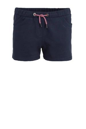 sweatshort donkerblauw