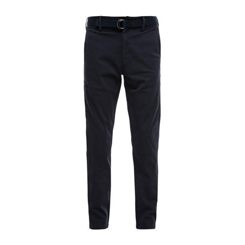 s.Oliver regular fit chino donkerblauw