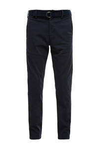 s.Oliver regular fit chino donkerblauw, Donkerblauw