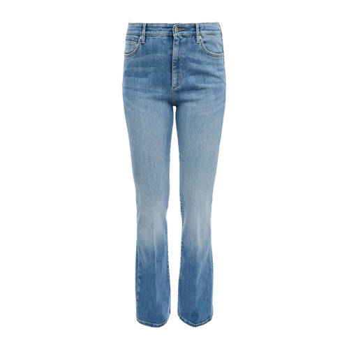 Q/S designed by high waist flared jeans blauw