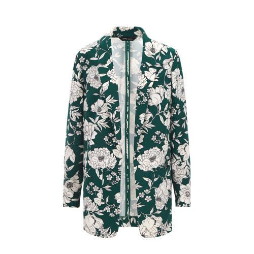 Simply Be Capsule gebloemde blazer groen/wit