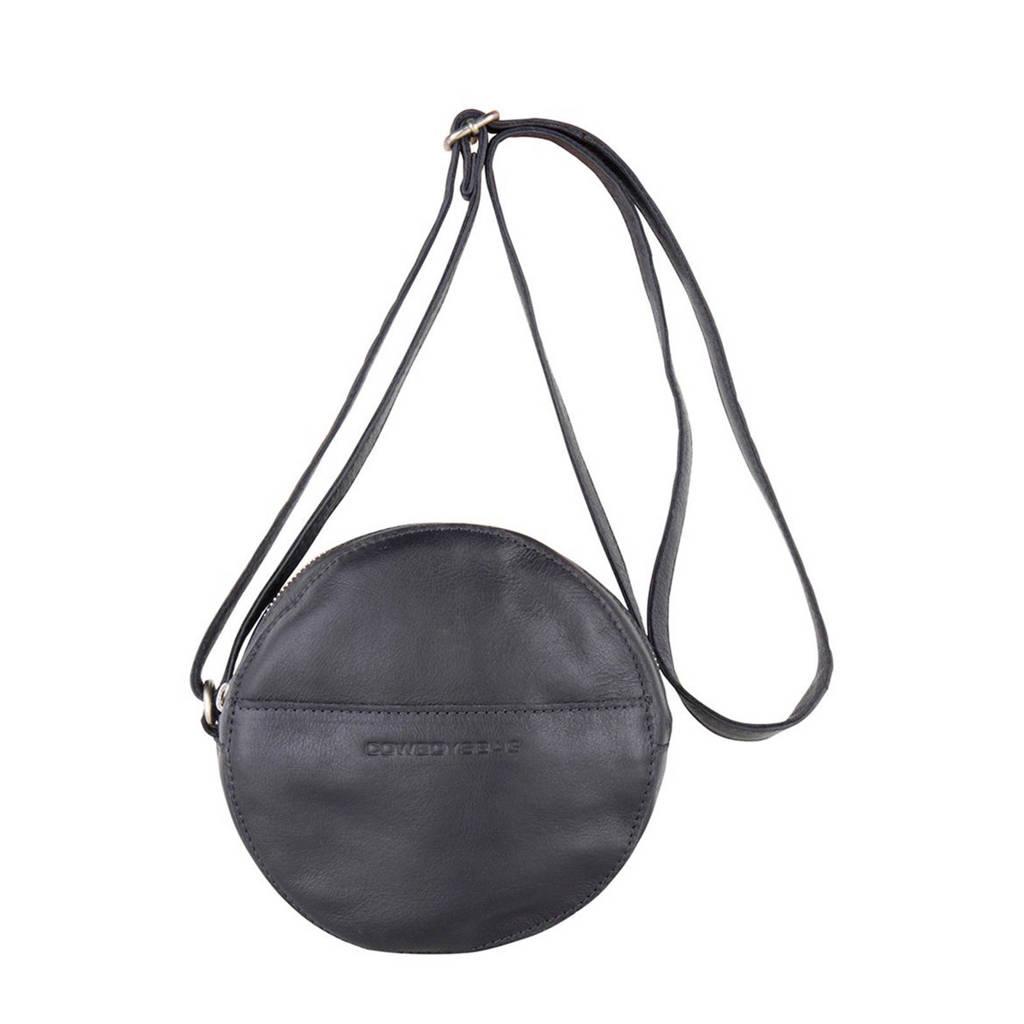 Cowboysbag   leren crossbody tas Carry antraciet, Antraciet