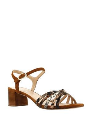 Gratta  leren sandalettes bruin