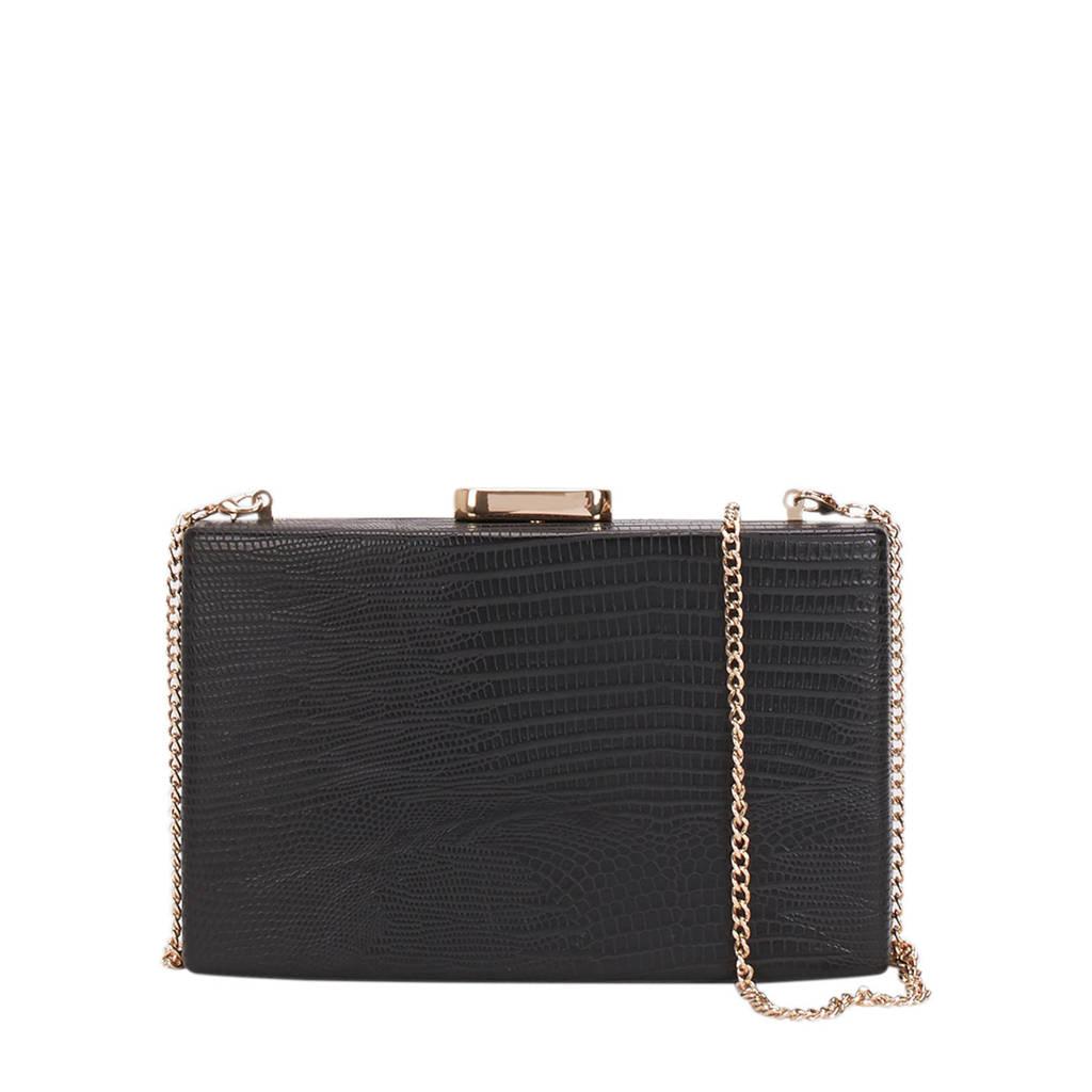 Parfois   box bag Bang zwart, Zwart