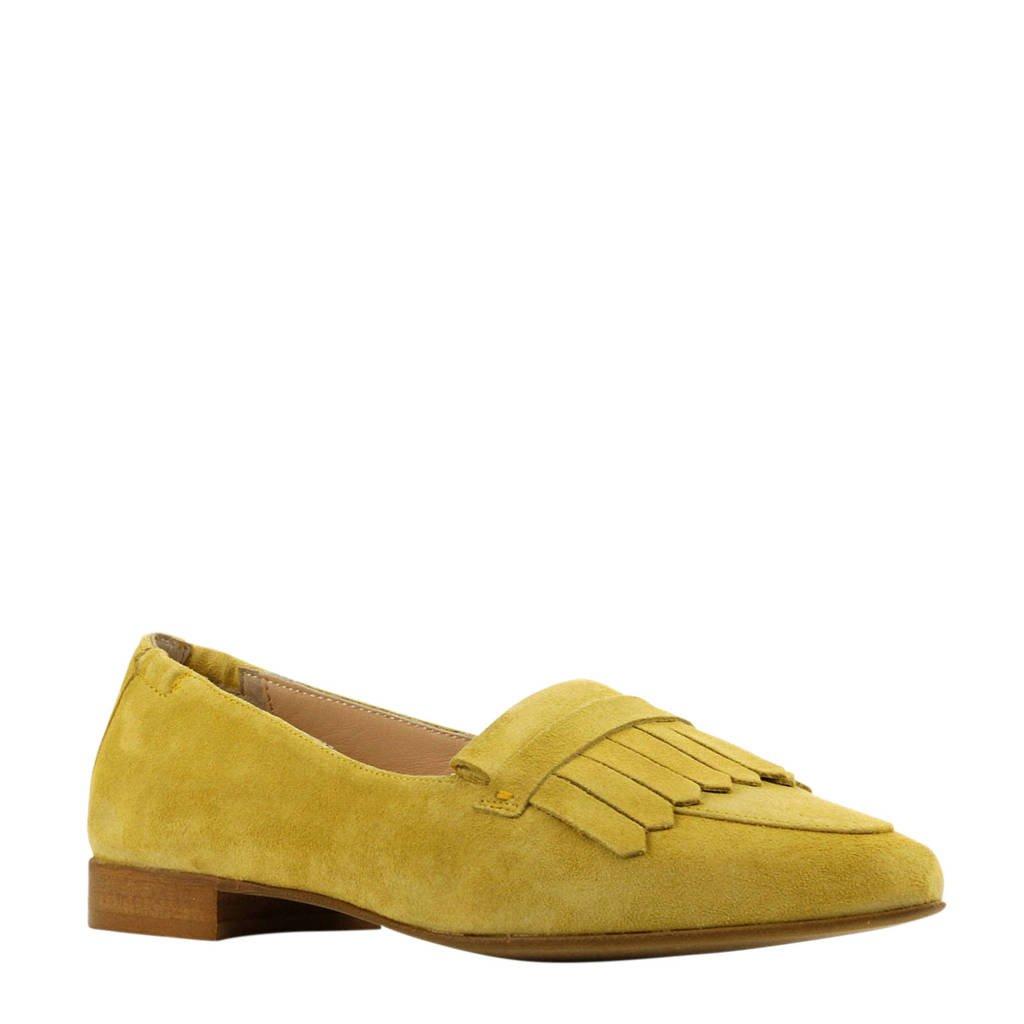 Lamica Serella  suède loafers geel, Geel