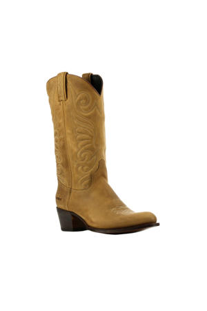 11627  nubuck cowboylaarzen bruin