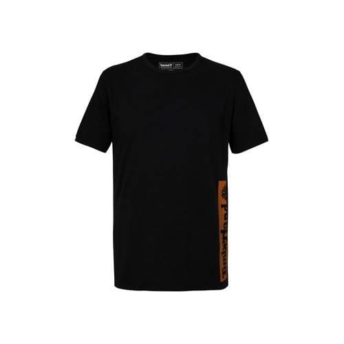Timberland T-shirt met logo zwart